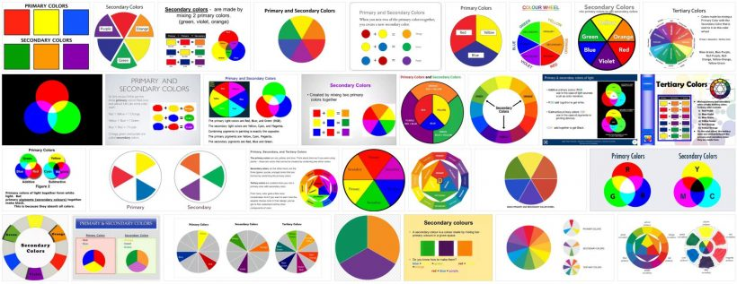 What are Primary and Secondary Colors